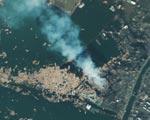 Zdjęcia satelitarne zniszczonej po trzęsieniu ziemi Japonii