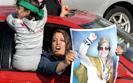 Libia: Manifestacja zwolenników Kaddafiego na ulicach Trypolisu