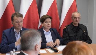 42 mln zł wsparcia dla poszkodowanych przez nawałnice. Szydło apeluje do gmin