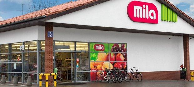 Sieć mila to blisko 190 marketów, które w 2016 roku zanotowały sprzedaż na poziomie 1,5 mld zł.