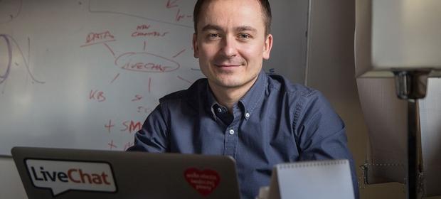 Mariusz Ciepły, prezes Livechat nie sprzedaje swoich akcji. Chce to zrobić Andrzej Różycki