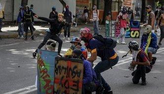 Strajk obywatelski w Wenezueli. Nie chcą dyktatury Maduro