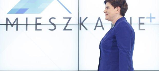 Program Mieszkanie+ to jeden ze sztandarowych projektów rządu Beaty Szydło