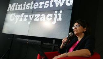 Minister Streżyńska: 3 mld zł na internet, wiele cyfrowych udogodnień