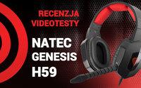 Natec Genesis H59 - Test i Recenzja Niedrogich Słuchawek Dla Graczy