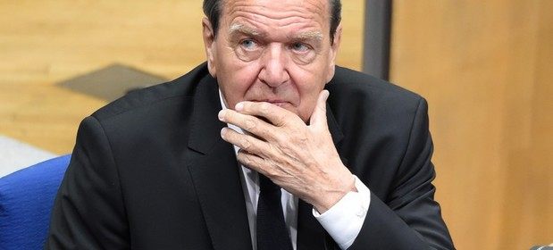 Gerhard Schroeder, były kanclerz Niemiec
