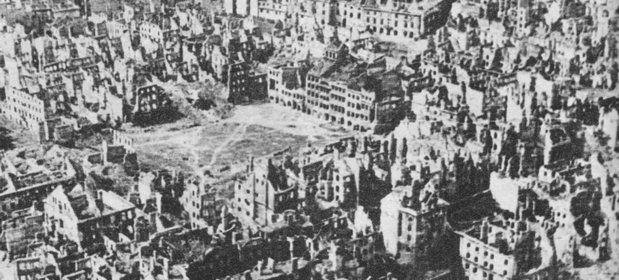 Szacuje się, że zniszenia wojenne lewobrzeżnej warszawy przekroczyły 80 proc.