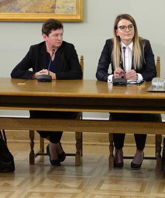 Nietypowe przesłuchanie na komisji ds. Amber Gold. Teściowa Marcina P. nie odpowiedziała na większość pytań