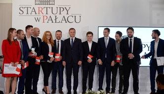 Startupy w Pałacu Prezydenckim. Oto projekty wyróżnione przez Andrzeja Dudę