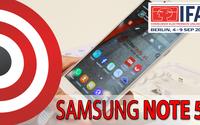 Samsung Galaxy Note 5 - Prezentacja Smartfona na IFA 2015