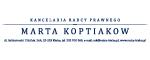 Marta Koptiakow. Kancelaria radcy prawnego