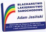 BLACHARSTWO-LAKIERNICTWO SAMOCHODOWE ADAM JASIŃSKI