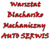 WARSZTAT BLACHARSKO MECHANICZNY AUTO SERWIS KRZYSZTOF PISARCZYK
