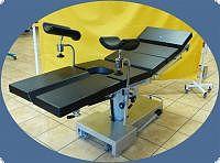 Stół operacyjno-zabiegowy INOX, poliuretan