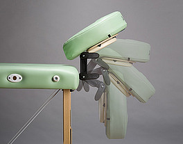 Podgłówek regulowany Lux (2x łamany) do składanych stołów