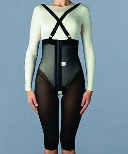 ELŻBIETA Spodnie z szelkami po operacjach plasycznych