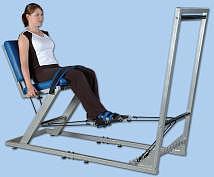 Fotel KNEE TENSOR do ćwiczeń oporowych kończyn dolnych