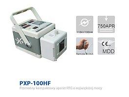 PXP 100 HF Przenośny kompaktowy rentgen weterynaryjny