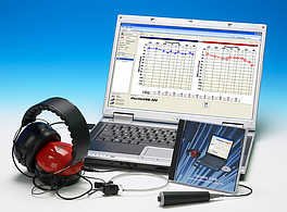 Audiometr diagnostyczny Oscilla(R) USB-300B