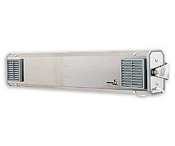 NBVE 110 NL Przepływowa lampa bakteriobójcza z licznikiem czasu