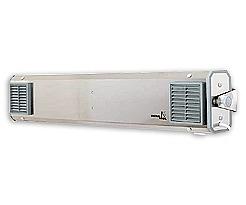 NBVE 110 SL Przepływowa lampa bakteriobójcza z licznikiem czasu