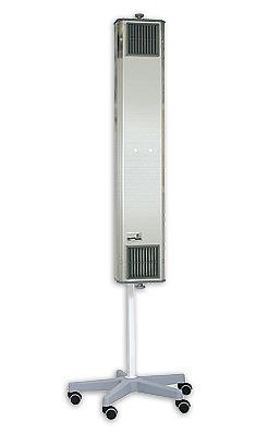 NBVE 60 PL Przepływowa lampa bakteriobójcza z licznikiem czasu
