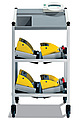 SECA 985 Elektroniczna waga łóżkowa i dializowa z wózkiem na sprzęt