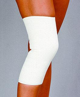 Opaska stawu kolanowego przeciwreumatyczna - z apreturą bursztynową
