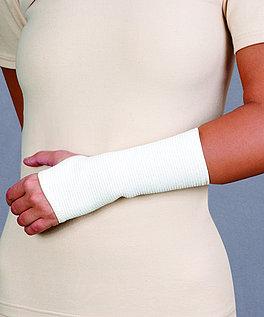 Opaska stawu nadgarstkowego przeciwreumatyczna - z apreturą bursztynową