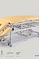 SM-2 H-Ł Łamany stół do masażu z hydrauliczną zmianą wysokości