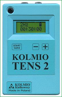 KOLMIO TENS 2 wersja rozszerzona Aparat do elektrostymulacji