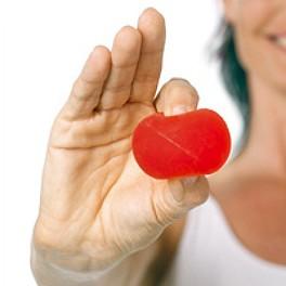 Opór średni / czerwony - Trener dłoni