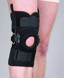 Orteza stawu kolanowego stabilizująca otwarta (neopren perforowany)