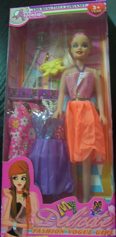 zabawka - lalka z akcesoriami