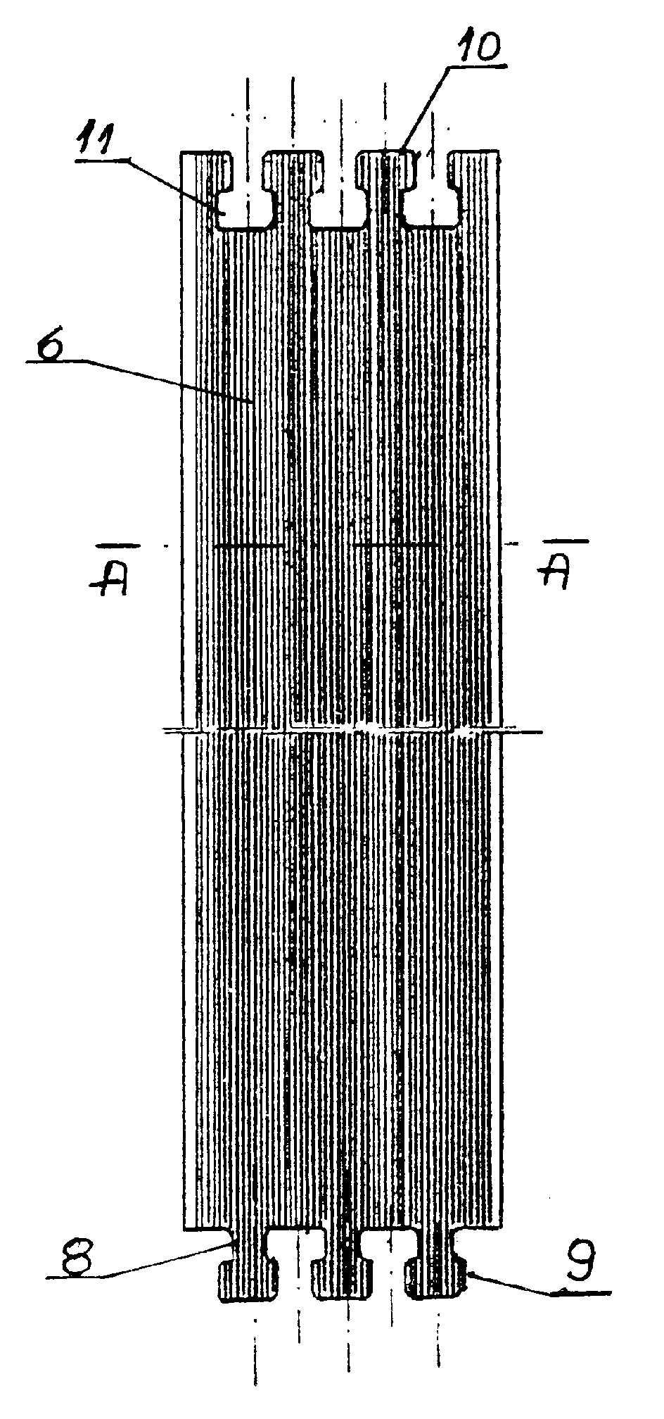 Sposób wytwarzania modułowego podkładu amortyzującego pod szyny jezdne oraz modułowy podkład amortyzujący pod szyny jezdne