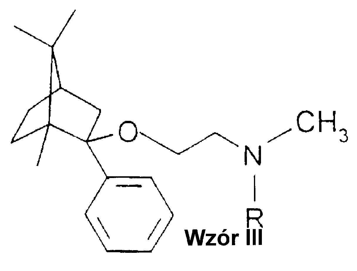 Nowe pochodne 1,7,7-trójmetylobicyklo[2,2,1]-heptanu, sposób ich otrzymywania, kompozycje farmaceutyczne oraz zastosowanie nowych pochodnych