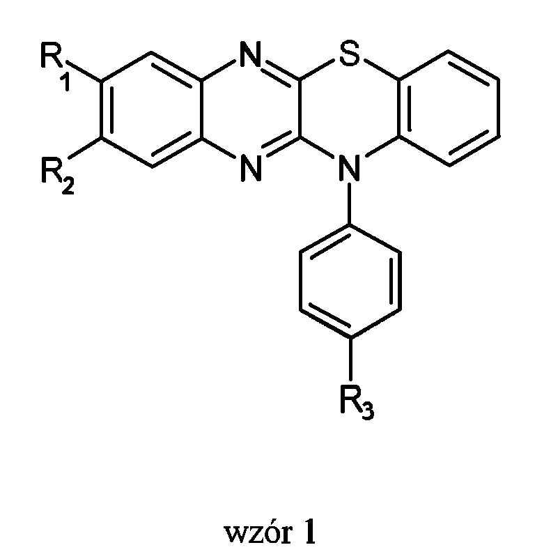 Związki, pochodne 12-fenylo-12H-chinoksalino-[2,3-b][1,4]-benzotiazyny oraz sposób ich wytwarzania