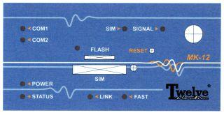Płyta czołowa konwertera GSM